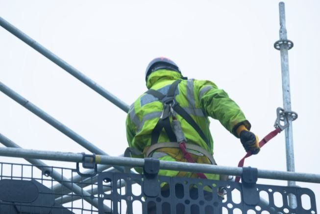 Edge Protection Scaffolding Bristol