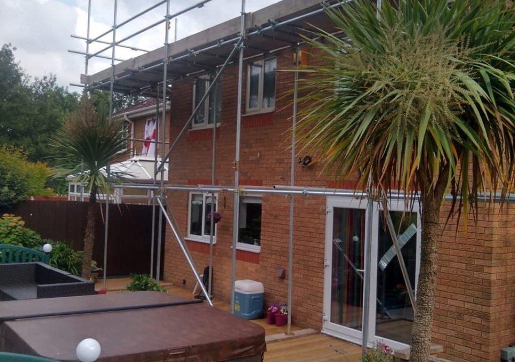 residential scaffolding